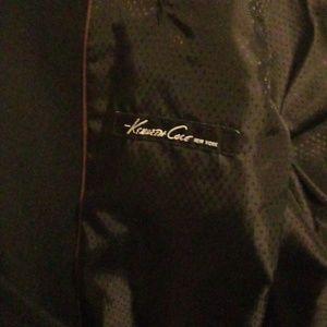Black Men's Overcoat